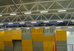 Разработка и изготовления баннера для скалодрома 23х1,6 метра