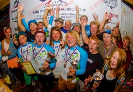 Оформление мероприятий - Чемпионат мира по Кайт серфингу, компания АРПРИНТ - официальный партнер соревнований